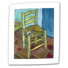 "<strong>Art Wall</strong> Vincent van Gogh ""Vincent's Chair"" Canvas Wall Art"