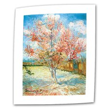 """The Flowering Peach Tree"" by Vincent van Gogh Painting Print on Canvas"