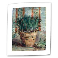 "Vincent van Gogh ""Chives"" Canvas Wall Art"