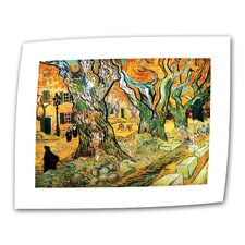 """""""The Road Menders"""" by Vincent van Gogh Painting Print on Canvas"""