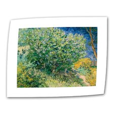"""Lilacs"" by Vincent van Gogh Painting Print on Canvas"