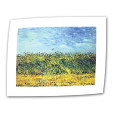 """Green Wheat Fields"" by Vincent van Gogh Painting Print on Canvas"