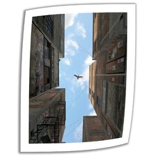 Cynthia Decker 'Afternoon Alley' Unwrapped Canvas Wall Art