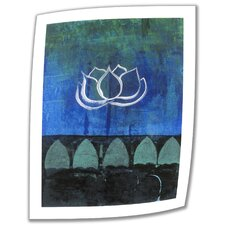 Elena Ray 'Lotus Blossom' Unwrapped Canvas Wall Art