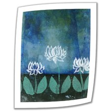 Elena Ray 'Lotus Blossoms' Unwrapped Canvas Wall Art
