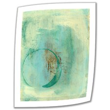 'Teal Enso' by Elena Ray Photographic Print on Canvas