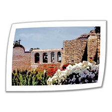 <strong>Art Wall</strong> Linda Parker 'Bells of Mission San Juan Capistrano' Unwrapped Canvas Wall Art