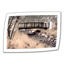 Linda Parker 'Bridge over Wash' Unwrapped Canvas Wall Art