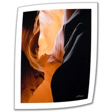 'Slot Canyon VII' by Linda Parker PhotographicPrint on Canvas