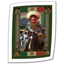 Rick Kersten 'Zapata' Unwrapped Canvas Wall Art