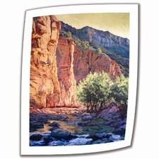 Rick Kersten 'The West Fork' Unwrapped Canvas Wall Art