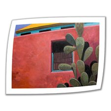 'Adobe Color' by Rick Kersten Painting Print on Canvas