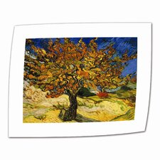 """Mulberry Tree"" by Vincent van Gogh Painting Print on Canvas"