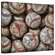 'Baseballs' by David Liam Kyle Photographic Print on Canvas
