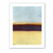 Jan Weiss 'Big Sky Country II' Unwrapped Canvas Wall Art
