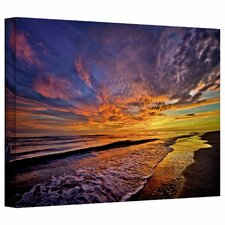'The Sunset' by David Liam Kyle Photographic Print on Canvas