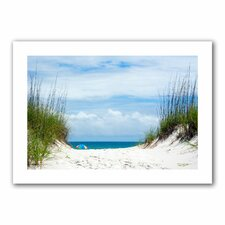Ocean Path Photographic Print on Canvas II by David Liam Kyle