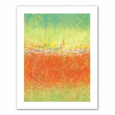 Jan Weiss 'Textured Earth' Unwrapped Canvas Wall Art