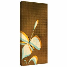 <strong>Art Wall</strong> Jan Weiss 'Expresso Foral II' Gallery-Wrapped Canvas Wall Art