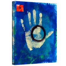 Elena Ray 'Health Hand Print' Gallery-Wrapped Canvas Wall Art