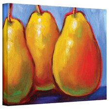 Susi Franco 'Gang of Pears' Gallery-Wrapped Canvas Wall Art