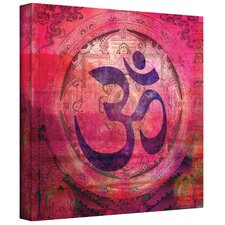 'Om Mandala' by Elena Ray Graphic Art on Canvas
