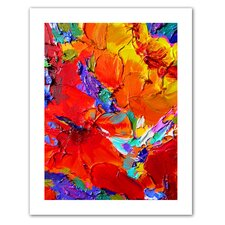 Susi Franco 'Charlits Floral' Unwrapped Canvas Wall Art