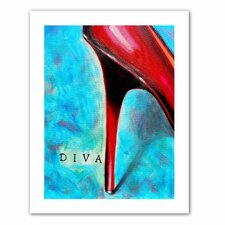 Susi Franco 'Diva' Unwrapped Canvas Wall Art