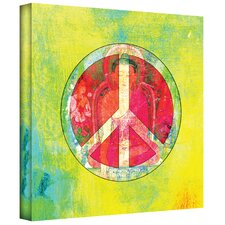 'Peace Sign' by Elena Ray Graphic Art on Canvas