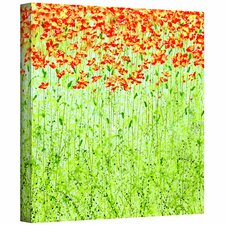 Herb Dickinson 'Spring Arabesque' Gallery-Wrapped Canvas Wall Art
