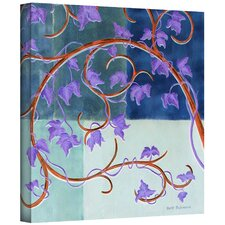 'Blue Gate' by Herb Dickinson Painting Print on Canvas