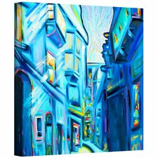 'Magical Alleys of Venice' by Susi Franco Painting Print on Canvas