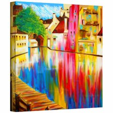 <strong>Art Wall</strong> Susi Franco 'River Through Treviso' Gallery-Wrapped Canvas Wall Art