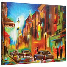Susi Franco 'Twilight in Treviso' Gallery-Wrapped Canvas Wall Art
