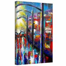 Susi Franco '8 O'Clock Street Lights' Gallery-Wrapped Canvas Wall Art