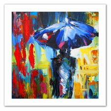 <strong>Art Wall</strong> Susi Franco 'Downtown Stroll' Unwrapped Canvas Wall Art