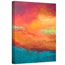 Herb Dickinson 'Lake Reflections III' Unwrapped Canvas Wall Art