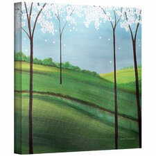 'Whimsy Spring' by Herb Dickinson Painting Print on Canvas