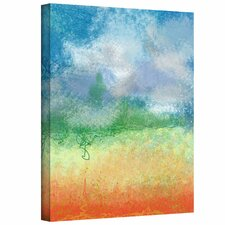 """Big Sky Calm' by Jan Weiss Graphic Art Canvas"