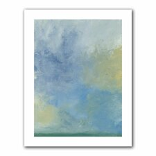 <strong>Art Wall</strong> Jan Weiss 'Misty Sky' Unwrapped Canvas Wall Art