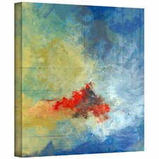 Jan Weiss 'Earth and Lines II' Unwrapped Canvas Wall Art