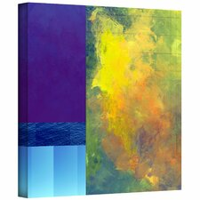 <strong>Art Wall</strong> Jan Weiss 'Earth Squares II' Unwrapped Canvas Wall Art