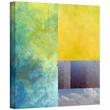 Jan Weiss 'Earth Textures Squares I' Unwrapped Canvas Wall Art