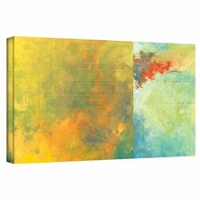 Jan Weiss 'Textured Earth Panel II' Gallery-Wrapped Canvas Wall Art