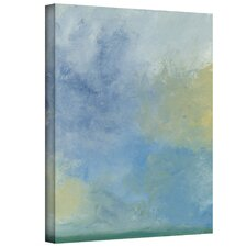 'Misty Sky' by Jan Weiss Graphic Art Canvas