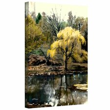 Linda Parker 'Spring, Central Park' Gallery-Wrapped Canvas Wall Art