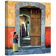 'Guanajuato Door' by Rick Kersten Photographic Print on Canvas