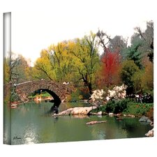 <strong>Art Wall</strong> Linda Parker 'Saturday Central Park' Gallery-Wrapped Canvas Wall Art