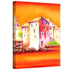 'Sunset' by Susi Franco Graphic Art Canvas