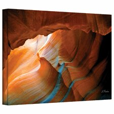 'Slot Canyon V' by Linda Parker Photographic Print on Canvas